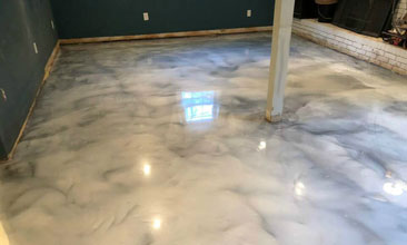 Metallic Epoxy Flooring Grand Rapids
