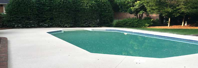 Pool Deck Spray Coatings