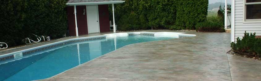 Decorative Pool Decking