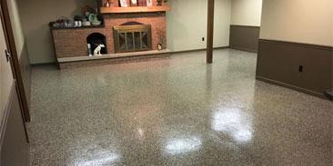 Basement Concrete Floor Epoxy Sealer